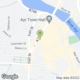 Map of Sandgate Dentistry in Ayr, ayrshire