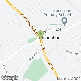 Map of Impressions Health & Beauty Salon in Mauchline, ayrshire