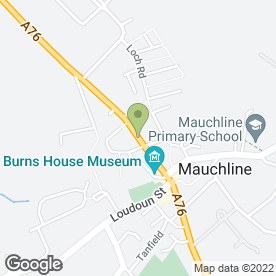 Map of Barr & MacMillan in Mauchline, ayrshire