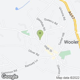 Map of Ramblers in WOOLER, northumberland