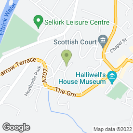 Map of Jim Farrell in Selkirk, selkirkshire