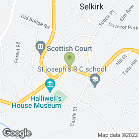 Map of Tony's Tower Takeaway in Selkirk, selkirkshire