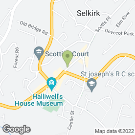 Map of The County Hotel Ltd, in Selkirk, selkirkshire