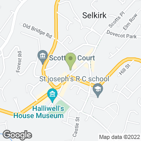 Map of Border Vets in Selkirk, selkirkshire