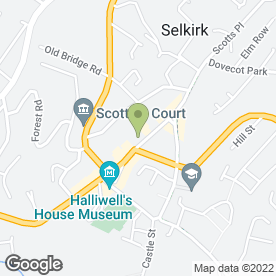 Map of Stav's in Selkirk, selkirkshire