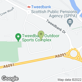 Map of Cartec in Tweedbank, Galashiels, selkirkshire