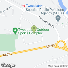 Map of Bathroom Planet (Borders) Ltd in Galashiels, selkirkshire
