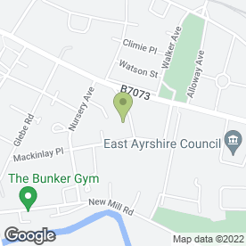 Map of Nicole's Nails in Kilmarnock, ayrshire