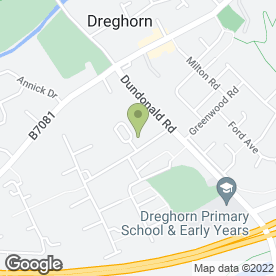 Map of Stevie Weir Photography in Dreghorn, Irvine, ayrshire