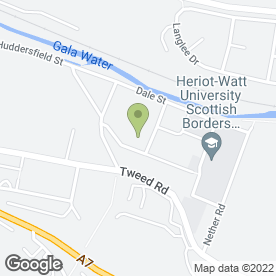 Map of Handy Self Drive in Galashiels, selkirkshire