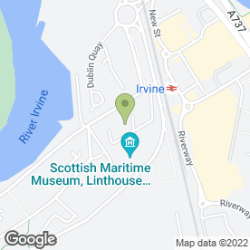 Map of A & G Securities Ltd in Irvine, ayrshire