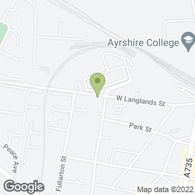 Map of Thistle Cabs Ltd in Kilmarnock, ayrshire