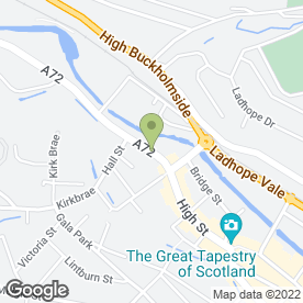 Map of L.A Bridalwear in Galashiels, selkirkshire