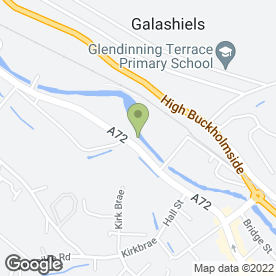 Map of McDonald's Restaurants Ltd in Galashiels, selkirkshire