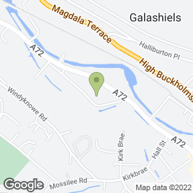 Map of QubeGB Ltd in Galashiels, selkirkshire