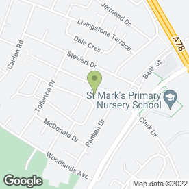 Map of Sarah Park Mobile Hairdressing in Irvine, ayrshire