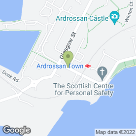 Map of Garfields in Ardrossan, ayrshire