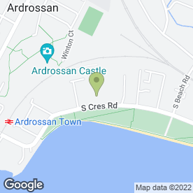 Map of St. Peter's Children's Centre in Ardrossan, ayrshire