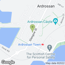 Map of Happy Kitchen in Ardrossan, ayrshire