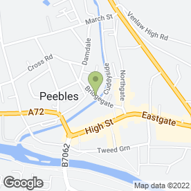 Map of Gina Enickl Hair & Beauty in Peebles, peeblesshire
