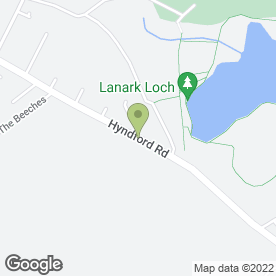 Map of Loch Garage Tyres in Lanark, lanarkshire