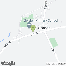 Map of Gordon Arms in Gordon, berwickshire