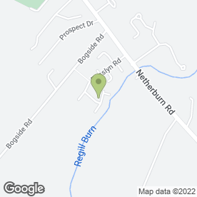 Map of Ashgill Communications & Media in Ashgill, Larkhall, lanarkshire