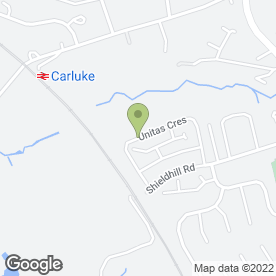 Map of Jims Taxi in Carluke, lanarkshire