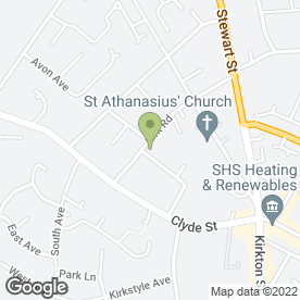 Map of Xtra Mini Coach Hire in Carluke, lanarkshire