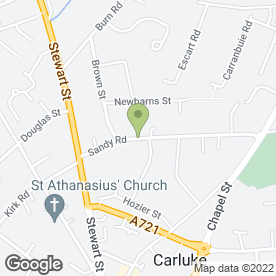 Map of Cooper Bros in Carluke, lanarkshire