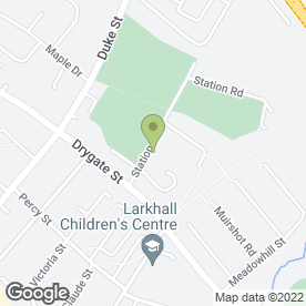 Map of The Willows Boarding Kennel & Cattery in Larkhall, lanarkshire