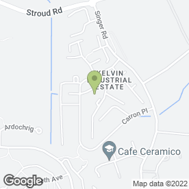 Map of Kelvin Autos Ltd in East Kilbride, Glasgow, lanarkshire
