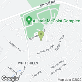 Map of Whitehills Farm Restaurant & Bar Ltd in East Kilbride, Glasgow, lanarkshire