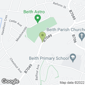 Map of Pride Painters & Decorators in Beith, ayrshire
