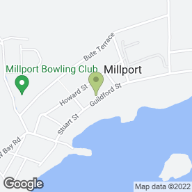 Map of Angela's in Millport, Isle Of Cumbrae, isle of cumbrae