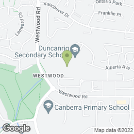 Map of Kihonkai Karate Academy in East Kilbride, Glasgow, lanarkshire