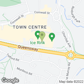 Map of Cafe India Express Ltd in Glasgow