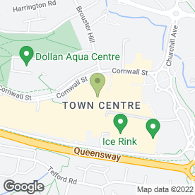 Map of Bonnar Accident Law Solicitors in East Kilbride, lanarkshire