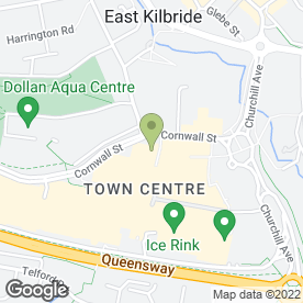 Map of Lloyds TSB Scotland plc in East Kilbride, Glasgow, lanarkshire