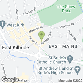 Map of Greggs in East Kilbride, Glasgow, lanarkshire