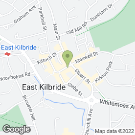 Map of Loudon's in East Kilbride, Glasgow, lanarkshire