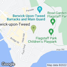 Map of Kreative Technology in Berwick-upon-Tweed, northumberland