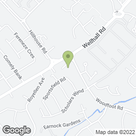 Map of Windswept Media International Ltd in Hamilton, lanarkshire
