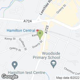Map of Beauty Network Hamilton in Hamilton, lanarkshire