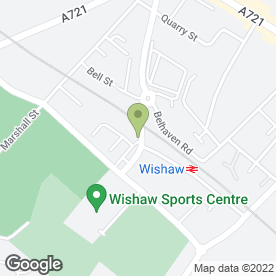 Map of H M TOWBARS in Wishaw, lanarkshire