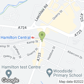 Map of Domestic Repair Centre in Hamilton, lanarkshire