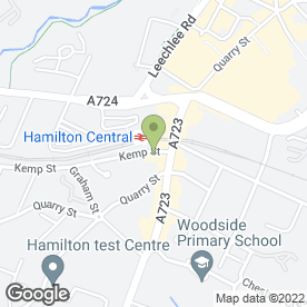 Map of Yee Hong Restaurant in Hamilton, lanarkshire