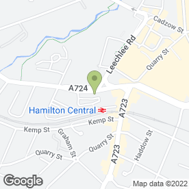 Map of Smith Design Solutions in Hamilton, lanarkshire