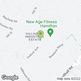 Map of Calder Mobile Mechanics in Hamilton, lanarkshire