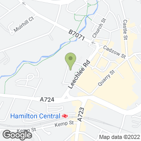 Map of Casa Dei Bambini in Hamilton, lanarkshire